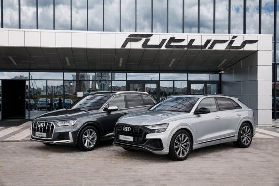 Новые спортивные Audi SQ7 и Audi SQ8 были показаны в Минске