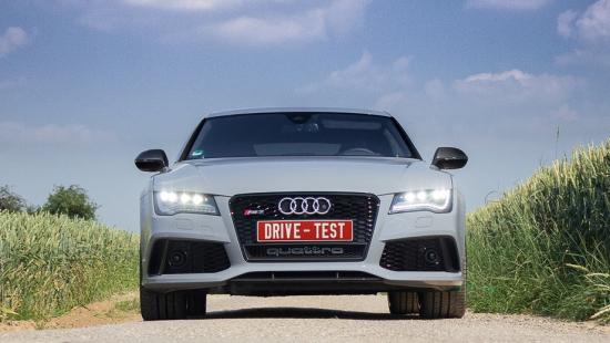 Тест-Драйв Audi RS7 Sportback и рекорды скорости