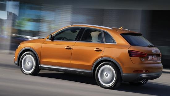 Тест-Драйв кроссовера Audi Q3 в городском режиме
