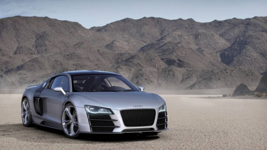 Единственный в своем роде дизельный суперкар Audi R8