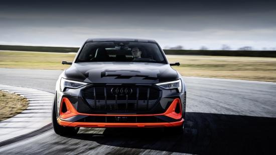 Немцы рассказали об аэродинамических свойствах Audi e-tron S