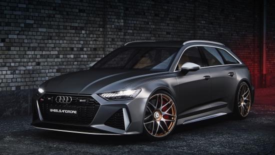 Audi RS 6 от Wheelsandmore наплевать на экостандарты
